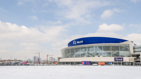 O2ий мир - арена мульти-пользы крытая Стоковые Фотографии RF
