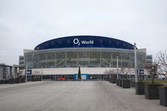 O2ий мир - арена мульти-пользы крытая Стоковое Фото