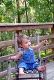o 1 anos de idade Foto de Stock