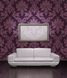 σύγχρονος καναπές πλαισί&o Στοκ εικόνες με δικαίωμα ελεύθερης χρήσης