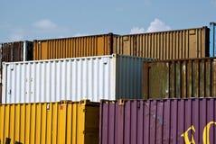 φορτίο εμπορευματοκιβ&o Στοκ φωτογραφία με δικαίωμα ελεύθερης χρήσης