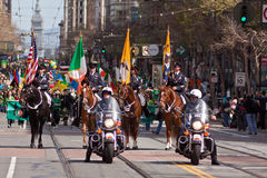 O 160th dia do St. Patrick anual Fotos de Stock Royalty Free