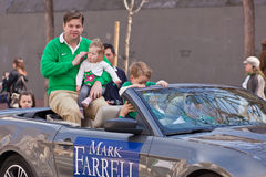 O 160th dia do St. Patrick anual Imagem de Stock