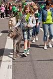 O 160th dia do St. Patrick anual Fotografia de Stock
