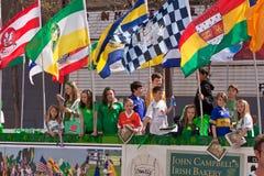 O 160th dia do St. Patrick anual Imagens de Stock Royalty Free