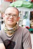 ασιατικές νεολαίες ατόμ&o Στοκ Φωτογραφίες