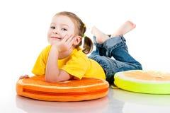 να βρεθεί κοριτσιών μωρών όμ&o Στοκ Εικόνα