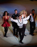 απόδοση Λόρδου τελών χορ&o Στοκ Εικόνες