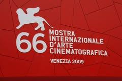 O 66th festival de película internacional de Veneza Imagens de Stock
