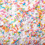 O açúcar polvilha pontos, decoração para o bolo e bekery Fotos de Stock