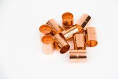 O acoplamento de cobre Imagens de Stock Royalty Free