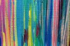 O acrílico do óleo das texturas do sumário da pintura da arte pinta o papel de parede imagens de stock
