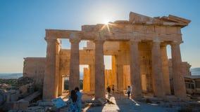 O Acropolis, Atenas imagem de stock royalty free
