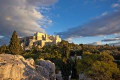 O Acropolis de Atenas imagem de stock royalty free