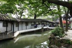 o administrador humilde Garden Suzhou China Fotos de Stock