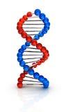 O ADN 3d rende ilustração royalty free