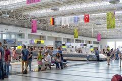 O aeroporto de Antalya Turquia Foto de Stock