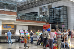 O aeroporto de Antalya Turquia Imagens de Stock