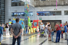 O aeroporto de Antalya Turquia Imagem de Stock Royalty Free