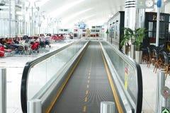 O aeroporto de Dubai International é um cubo principal da aviação no Médio Oriente Imagem de Stock Royalty Free