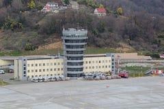 O aeroporto de Sochi Fotografia de Stock Royalty Free