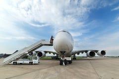 O Airbus A380 Imagens de Stock