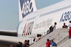 O Airbus A380 Imagem de Stock