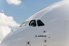 O Airbus A380 Fotografia de Stock Royalty Free
