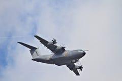 O Airbus A400M no airshow Imagens de Stock Royalty Free