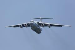 O airlifter de Ilyushin Il-76MD Fotografia de Stock Royalty Free