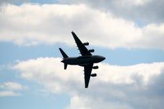 O Airplain em Airshow Fotografia de Stock Royalty Free