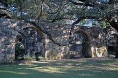O Alamo - arcos Fotografia de Stock