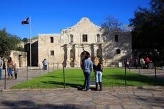 O Alamo em San Antonio imagens de stock royalty free