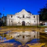 O Alamo histórico, San Antonio, Texas foto de stock