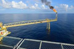 O alargamento do gás Imagens de Stock