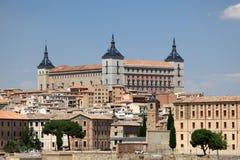 O Alcazar de Toledo, Espanha Fotografia de Stock Royalty Free
