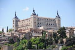 O Alcazar em Toledo, Espanha Fotos de Stock Royalty Free