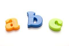 O alfabeto ABC das crianças fotos de stock royalty free