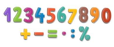 O alfabeto dos desenhos animados - para as crianças Imagem de Stock