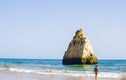 O Algarve bonito, Portugal 2016 Foto de Stock Royalty Free