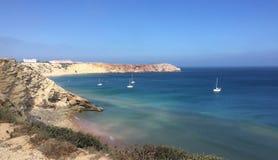 O Algarve, Ponta de Sagres Portugal imagem de stock royalty free