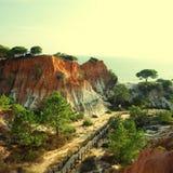 O Algarve, Portugal Fotos de Stock