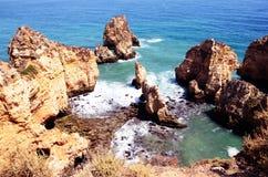 O Algarve, Portugal 2016 Imagens de Stock Royalty Free