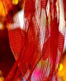 O algodão fez a fotografia do objeto do exemplo Imagens de Stock Royalty Free