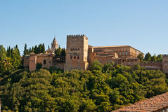 O Alhambra Imagens de Stock Royalty Free