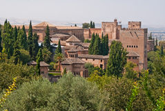 O Alhambra Foto de Stock