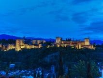 O Alhambra (3) Foto de Stock Royalty Free