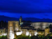 O Alhambra (2) Foto de Stock