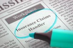 O alimentador dos créditos de seguro junta-se a nossa equipe 3d Imagens de Stock