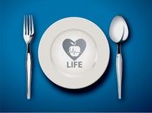 O alimento é vida Fotos de Stock